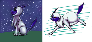 PKMNation - Chaos the Absol 1 by maybarros