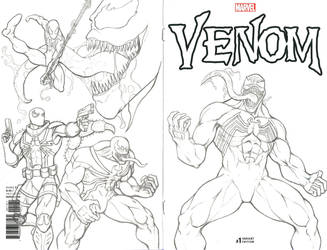 VenomSketchCover by wildpegasus13