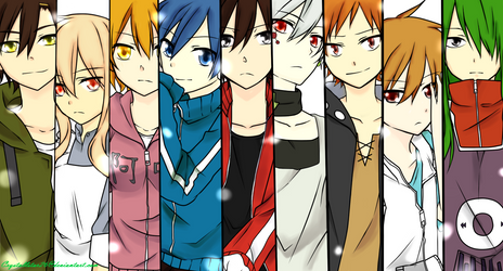 Kagerou Project Colouring Only by Crystallstar26