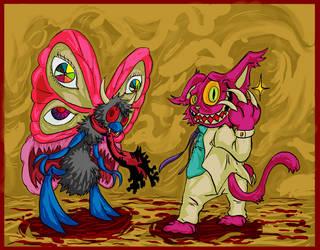 Commission: Y2-K Nightmare by HiroyValesti