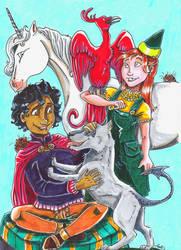 Merlin magic fantastic beasts by Agatha-Macpie