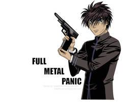 Full metal panic-souske sagara by kalath666