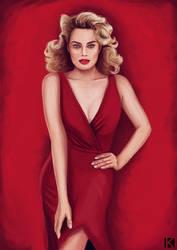 Margot Robbie by kalath666