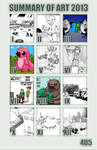 Summary Of Art 2013 by 4u5
