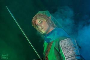 Hero of Hyrule - Hyrule Warriors Link cosplay by Grenier-Illiane