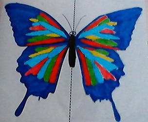 symmetry butterfly by bubblewand156