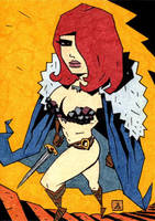 Red Sonja 12 by soliton