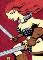 Red Sonja 16 by soliton