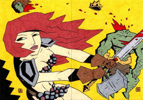 Red Sonja 22 and 23 by soliton