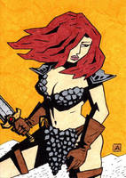 Red Sonja AP 1 by soliton