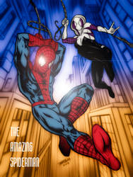 The Amazing Spiderman by christophersean