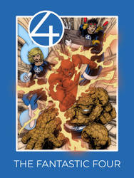The Fantastic Four by christophersean