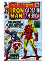 Tales of Suspense #59 by christophersean