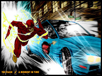 The Flash - A Moment in Time by christophersean