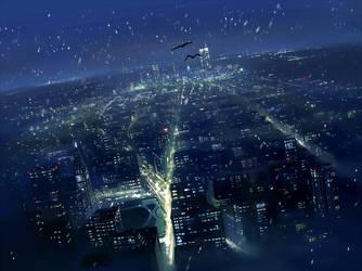 Manhattan by guntama
