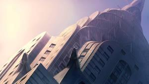 Chrysler building by guntama