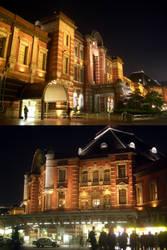 Tokyo Station by guntama
