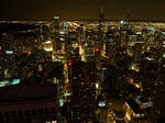 Chicago night view by guntama