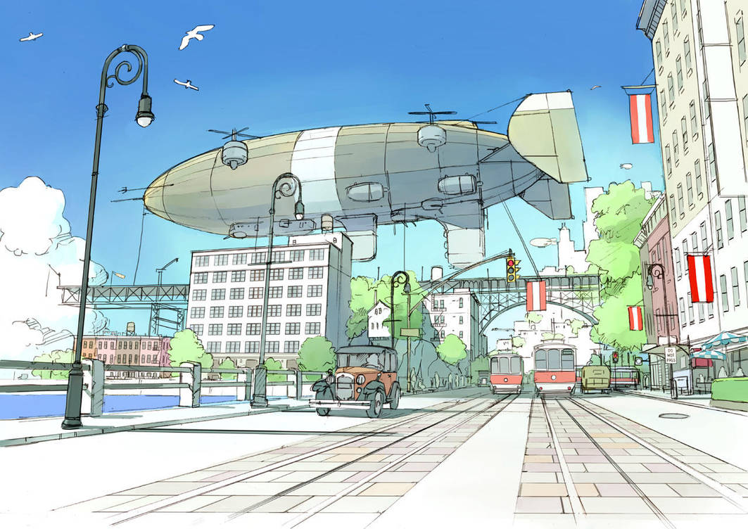 Port City by guntama