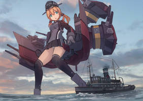 Prinz Eugen by guntama