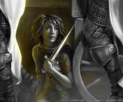 Arya Stark by henning