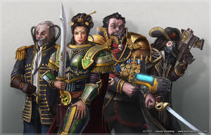 Warhammer 40K, Rogue trader 1 by henning