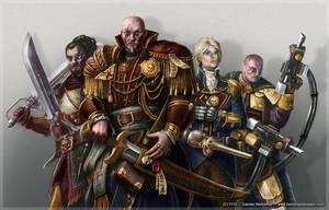 Warhammer 40K, Rogue trader 2 by henning