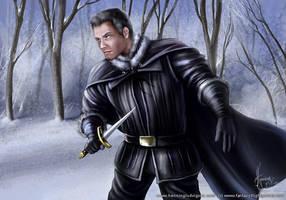Benjen Stark by henning
