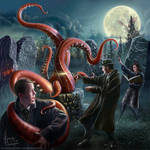 Call of Cthulhu, Arkham horror by henning