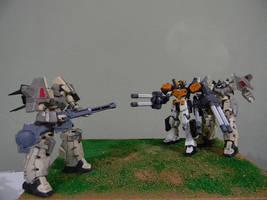 Gunpla Diorama by 509freak
