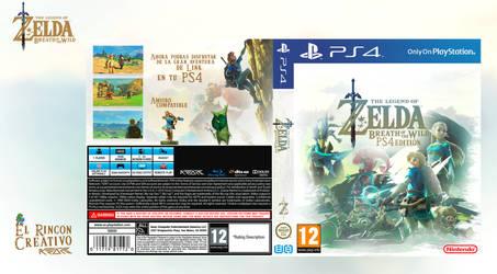 Zelda Breath Of The Wild Ps4 zeldacover | explore zeldacover on deviantart