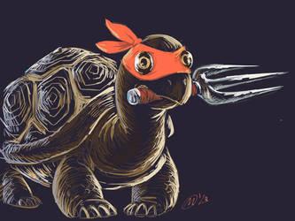 Ninja Tortoise by MatsuRD