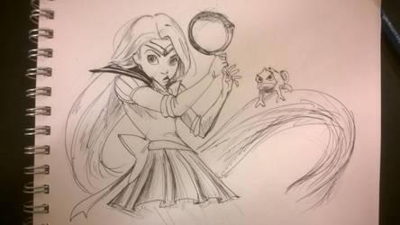 Sailor Rapunzel by MatsuRD