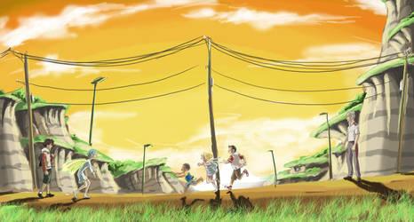 Eureka 7 - Back in Bellforest by MatsuRD