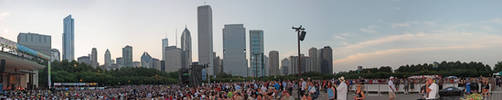 Chicago Blues Fest Panoramic by ratdog420