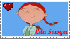 Lila Sawyer Stamp by LoudNoises