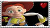 Jessie Cowgirl Stamp by LoudNoises
