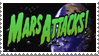 Mars Attacks Stamp by LoudNoises