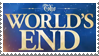The World's End Stamp by LoudNoises