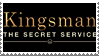 Kingsman: The Secret Service Stamp by LoudNoises