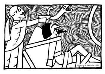 Voluspa The Punishment of Loki by Sigrulfr