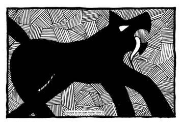 Voluspa - Garm the Wolf by Sigrulfr