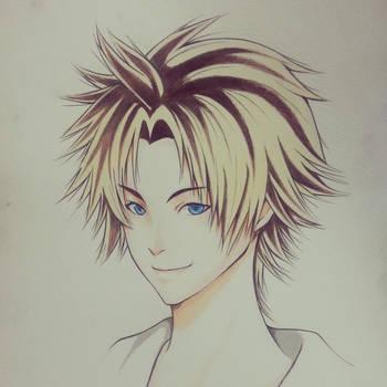 Tidus Final Fantasy X by thumbelin0811