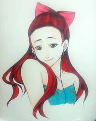 Ariana Grande by thumbelin0811