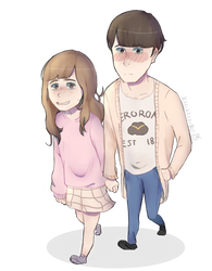 Request 3: Couplette by jessijellycake
