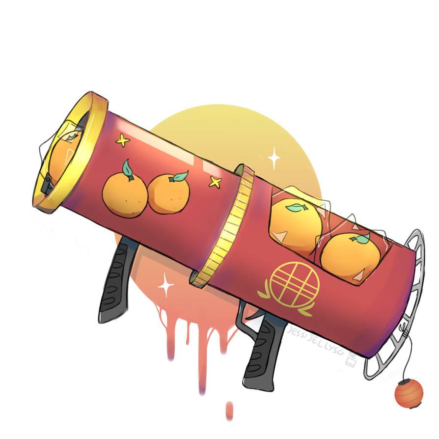 Chinese New Year Special: Orange Bazooka by jessijellycake