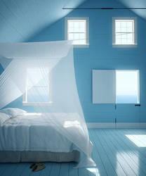 Island Bedroom by zodevdesign