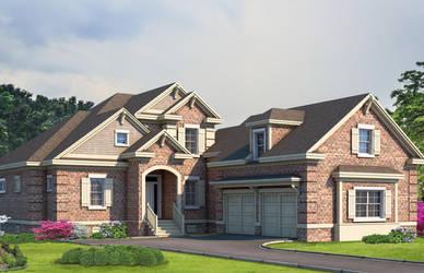 Brick Home by zodevdesign