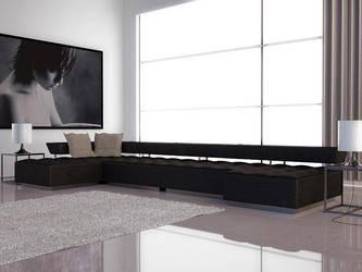 Modern Style Sofa by zodevdesign