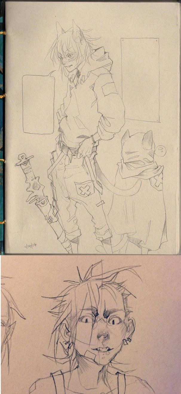character design and sketches by HJeojeo